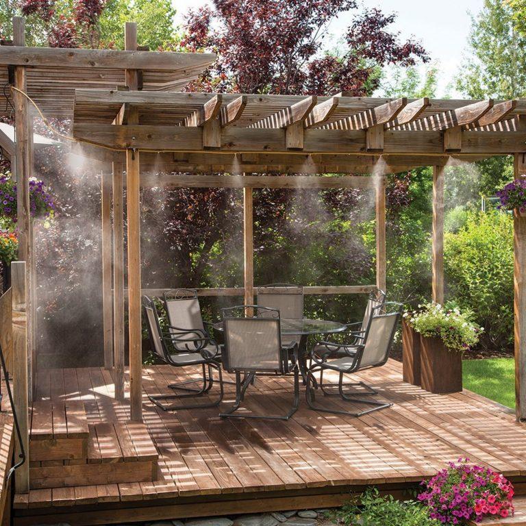 Bahçe Balkon Serinletme Sistemleri
